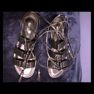 Michael Kors Lace Up Sandals